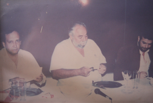 Con Manuel Clouthier, padre del panismo